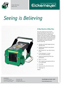 Hi-Ray Plus 2kW Portable High Frequency X-Ray - Brochure