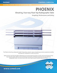 Pheonix Radiographic Table - Brochure
