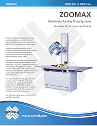 ZooMax 30KW High Frequency X-Ray - Brochure
