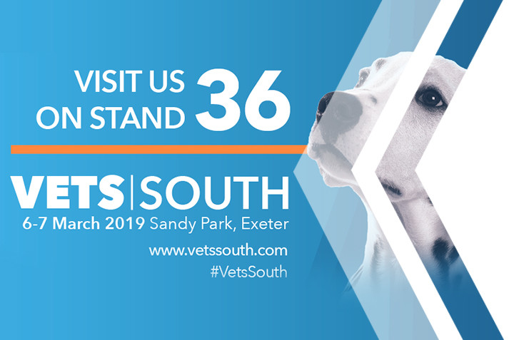 Visit us at VetsSouth 2019 – Exeter
