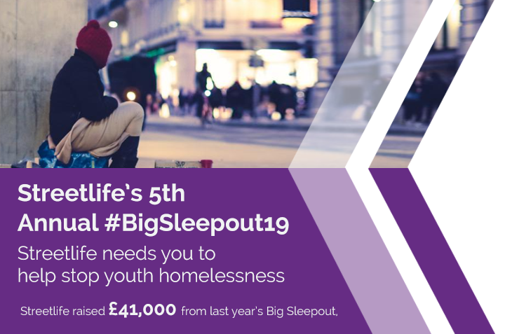 Streetlife – 5th Annual #BigSleepout19